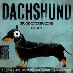 The Long and Short of it All: A Dachshund Dog News Magazine: Dachshund Art for Music Lovers