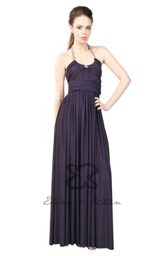 Eliza and Ethan - Multiway - Infinity -  Bridesmaids Dresses - OneSize - Maxi MultiWrap Dress Color: Blackberry