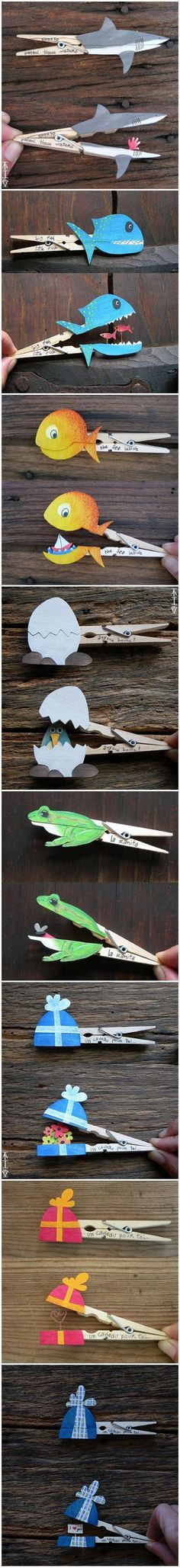 Fun With Clothespins…