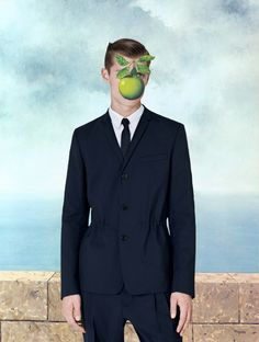 Ubicouture — ubicouture:   DIOR HOMME X RENÉ MAGRITTE  And for...