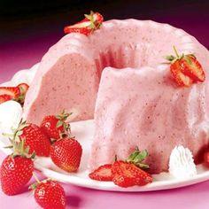 Truques de Meninas : Sobremesa fácil: gelatina cremosa