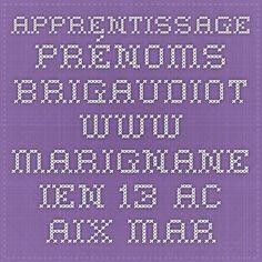 apprentissage prénoms brigaudiot www.marignane.ien.13.ac-aix-marseille.fr