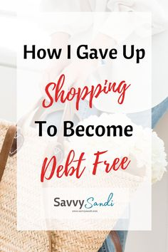 Do you struggle with shopping too much? Are your credit cards maxed out? Read on to see my actionable steps that you can begin today. Click to see how I gave up shopping to give my family financial freedom.#debtfree #savemoneytips #frugal #budget #savemoney Ways To Save Money, Money Tips, Money Hacks, Finance Organization, Organizing, Paying Off Student Loans, Paying Off Credit Cards, Get Out Of Debt, Frugal Living Tips