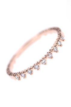 tiny hearts diamant ring I NEWONE-SHOP.COM