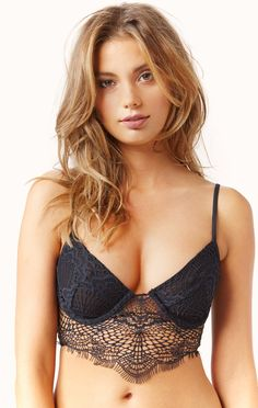 bat your lashes underwire bra by SKIVVIES by @forloveandlemon  #planetblue