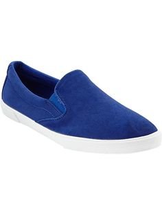 Old Navy Women's Canvas Slip-Ons... love the color!