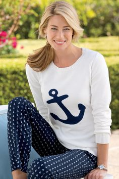 Anchor Sweater By JG Hook through chadwicks use coupon of 20% off of CH47712 - comes to 49