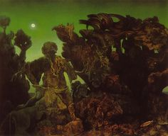 Max Ernst, Epiphany (oil-on-canvas), 1940.
