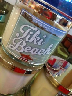 Bath and body works candles