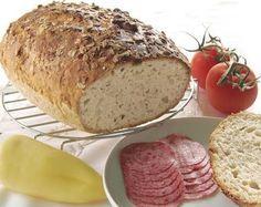 Dagasztás nélküli zabpelyhes kenyér Banana Bread, Bakery, Food And Drink, Fimo, Bakery Business, Bakeries