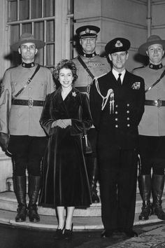 Queen Elizabeth and Prince Philip 1951 Royal Tour Canada
