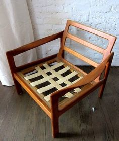 Mid-Century Couch Frame - $400