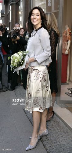 May 24, 2005--Crown Princess Mary Of Denmark Attends A Cocktail Evening At Max Mara In Copenhagen As Part Of The Hans Christian Andersen Bicentennial Celebrations.