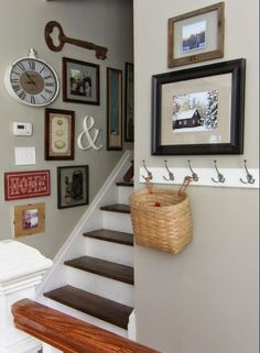 Ideas to decorate hallway walls hallway wall decor hallway wall decor ideas lovely best home decoration . Entryway Wall Decor, Interior, Stairway Decorating, Home Decor, Hallway Wall Decor, Home Decoration Images, Wall Gallery, Interior Design, Living Decor