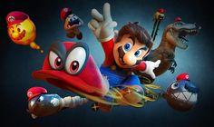 Super Mario Odyssey wallpaper by theunforgotten