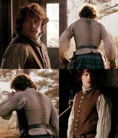 "primrosesandrues16: ""Day 4 Favorite Outlander Costume/Outfit Piece - Jamie's Vest """