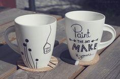 DIY: Bemalte Tassen