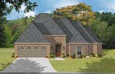 houseplan under 2000 square feet with open floor plan! Designed by a builder for builders. This makes your building process easier and saves you money! RG1926-10 | Rick Garner Designer