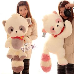 Aliexpress.com : Buy Free Shipping, Blue And White Doll Small Raccoon Koala Plush Toy Doll Tare Panda Pillow Christmas Gift 50cm F12954 from Reliable spring toys suppliers on Missexy Group. $19.90