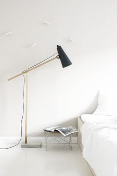 + white and a tinch of black for the bedroom +