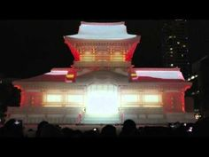Sapporo Snow Festival Projection Mapping Shows