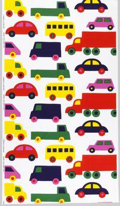 Bo Boo. Marimekko Textile designed by Katsuji Wakisaka, 1975. Found here.