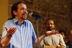 """El líder de Podemos aprovecha la presentación del acuerdo de confluencia de su partido, ICV y EUiA para las elecciones generales para afirmar que buscará """"vías operativas"""" para que se pueda ejercer la """"voluntad democrática"""" de los catalanes"""