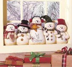 Snowman team. Cute!!!!!!