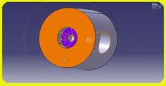 How to use Counter bored Hole Feature in CATIA V5?