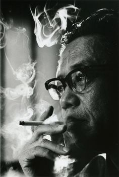 松本清張 Japanese author 1967