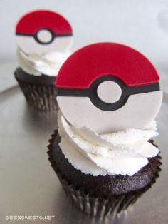 Pokéball Cupcake, Pokémon