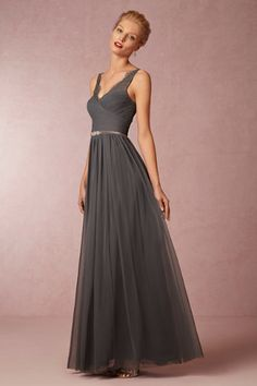 Fleur Dress in Bridesmaids Bridesmaid Dresses Long at BHLDN