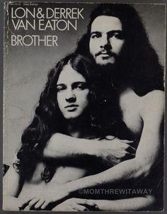 1972 BROTHER Rare Sheet Music Book LON & DERREK VAN EATON Apple George Harrison