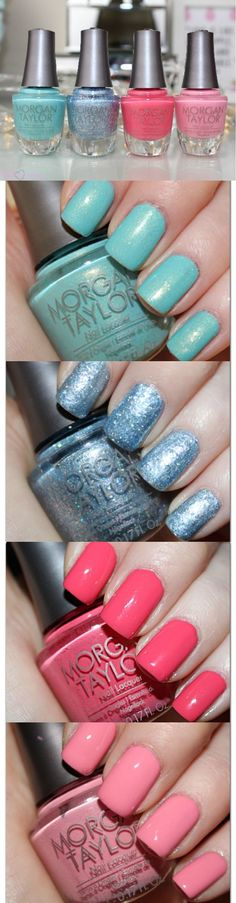 Morgan Taylor Disney Cinderella Collection Review and Swatches http://pinkparadisebeauty.blogspot.co.uk/2015/03/morgan-taylor-disney-cinderella-nail.html