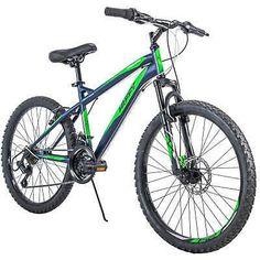 Huffy Nighthawk Boys' Mountain Bike Blue Outdoor Sport Exercise Bicycle New Kids Mountain Bikes, Mountain Bike Frames, Mountain Bicycle, Mountain Biking, Bmx Bikes, Sport Bikes, Bmx 20, Mountain Bike Accessories