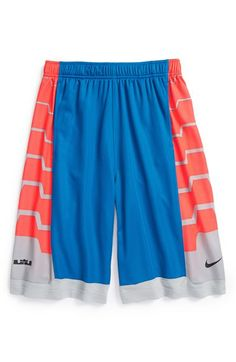Nike 'LeBron Driven' Athletic Shorts (Big Boys) available at #Nordstrom  but in the LIGHT CRIMSON/BLACK COLOR