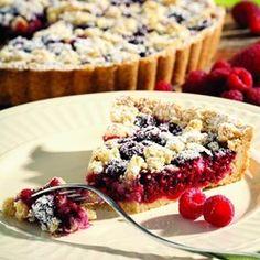 Raspberry-Almond Crumb Tart - EatingWell.com