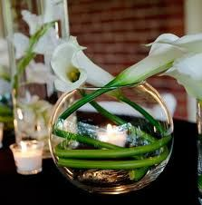 calla lily wedding table decorations - Google Search