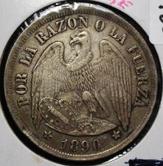 Chile, World Coins, Personalized Items, Country, Beauty, Coins, Words, Historical Photos, Money