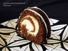 Cream Cheese Swirled Chocolate Bundt Cake