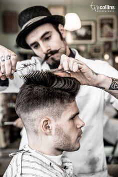 Schorem Barber Shop by Tim Collins, via Behance