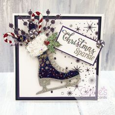 New In - Chloes Creative Cards - Chloes Creative Cards Christmas Card Crafts, Homemade Christmas Cards, Christmas Cards To Make, Homemade Cards, Holiday Cards, Chloes Creative Cards, Stamps By Chloe, Beautiful Christmas Cards, Chloe Shoes