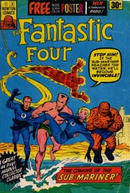 Fantastic Four comic book.