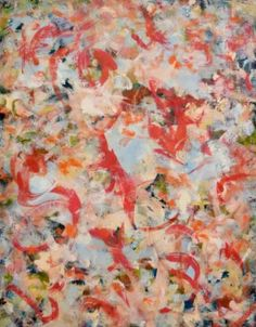 "Saatchi Art Artist sali swalla; Gestural Painting, ""Dancing Grace"" #art Grace Art, Coral Art, Contemporary Artists, Fractals, New Art, Saatchi Art, Dancing, Original Paintings, Rainbow"