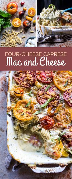 Four-Cheese Caprese Mac and Cheese