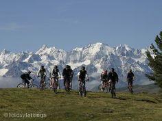 Mountain biking in the Four Valleys, Swiss Alps #switzerland #mountainbiking #apartment