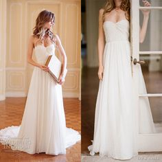 Adorable Sweet Pea Wedding Dress.