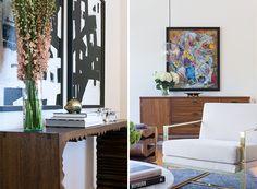 Blye Faust's Glamorous Living Room | Rue  #livingroom #homeinterior #homedecor
