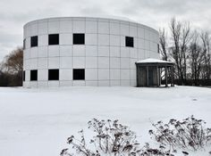 Snow in Minnesota Paisley Park