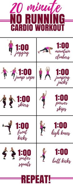 20 Min Cardio Workout | Posted By: CustomWeightLossProgram.com http://www.weightlossjumpstar.com/weight-loss-exercise-rules/